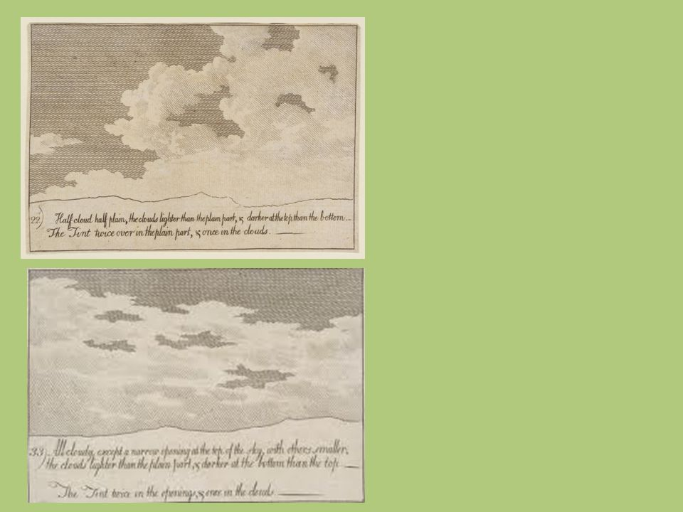John Robert Cozens., Veduta della campagna di Mirabella, 1782, acquerello su carta, mm.