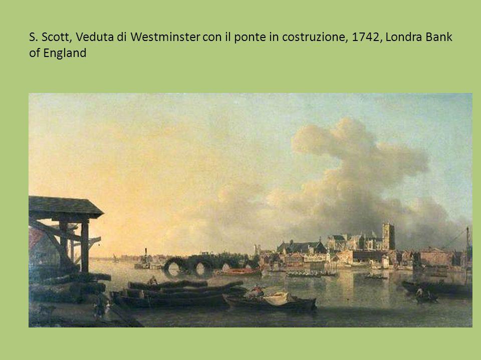 S. Scott, La piazza di Covent Garden, 1748-58, Museum of London