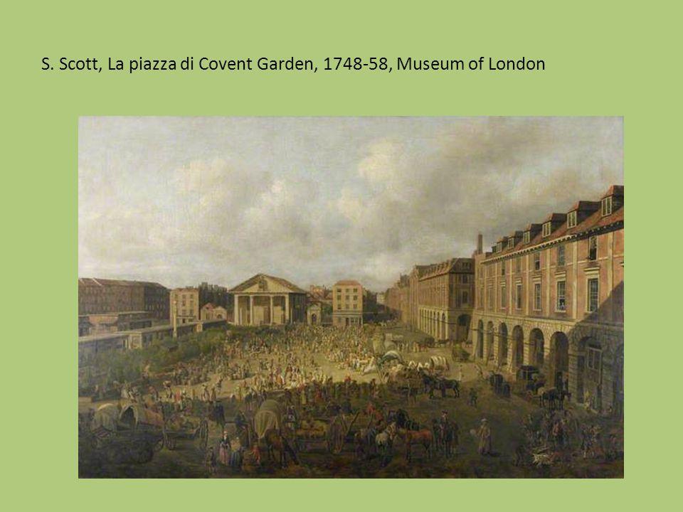 Canaletto, Il Tamigi visto attraverso un'arcata del ponte di Westminster, 1747, olio su tela, cm.