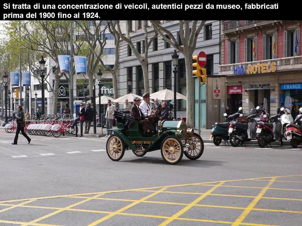 Da 1959 si celebra questo rally di auto d'epoca, tra Barcellona e Sitges