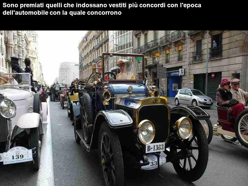 Parteciparono 150 auto dell'epoca