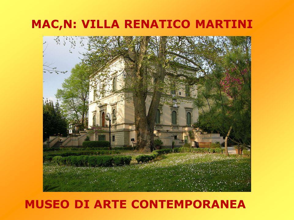 MAC,N: VILLA RENATICO MARTINI MUSEO DI ARTE CONTEMPORANEA