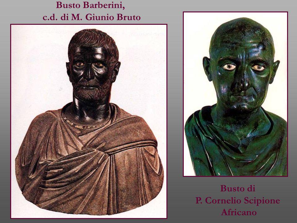 Busto Barberini, c.d. di M. Giunio Bruto Busto di P. Cornelio Scipione Africano