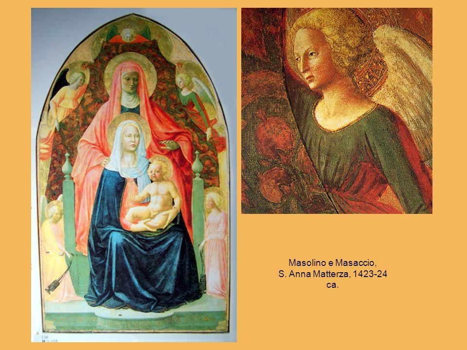 Masolino e Masaccio, S. Anna Matterza, 1423-24 ca.
