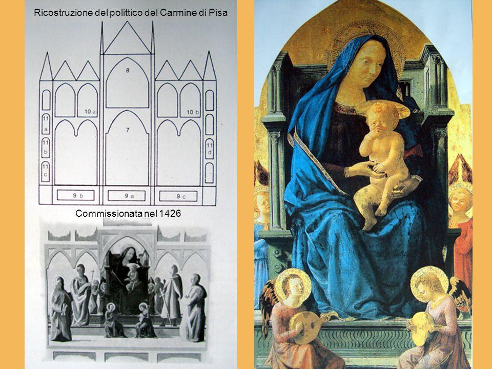 Ricostruzione del polittico del Carmine di Pisa Commissionata nel 1426