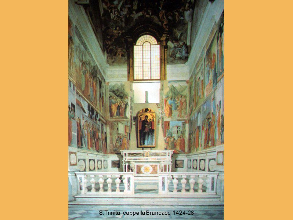 S.Trinita, cappella Brancacci 1424-28