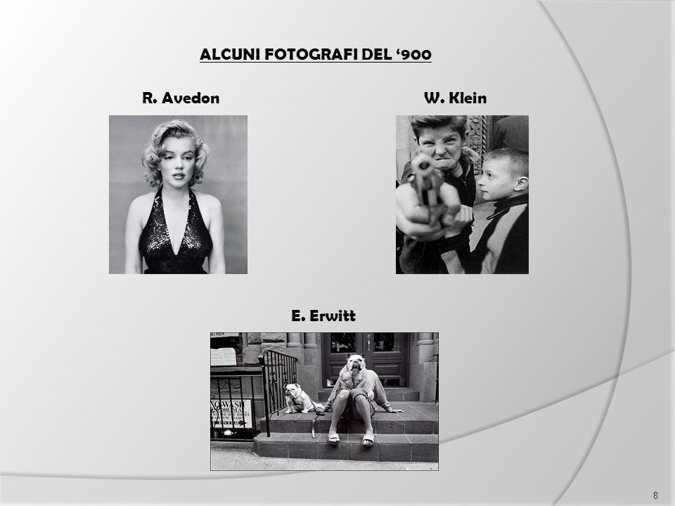 ALCUNI FOTOGRAFI DEL '900 R. Avedon E. Erwitt W. Klein 8