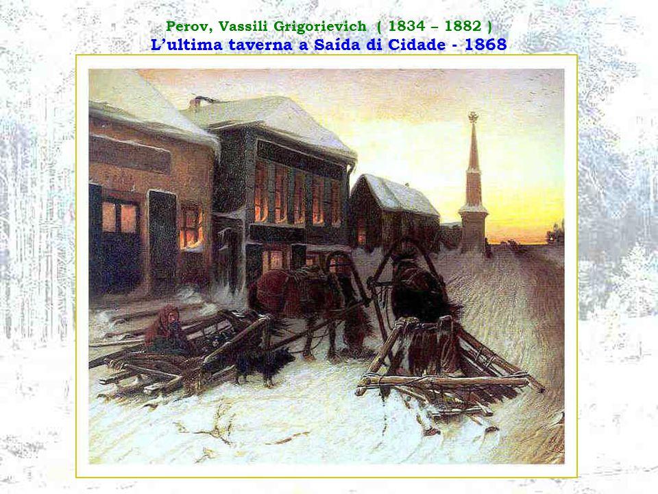 Maximov, Vassily Maximovich ( 1844 – 1911 ) Tutto sta nel passato - 1889