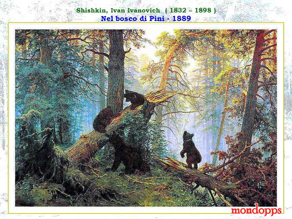 Savrassov, Alexei Kondratievich ( 1830 – 1897 ) Paesaggio invernale - 1871