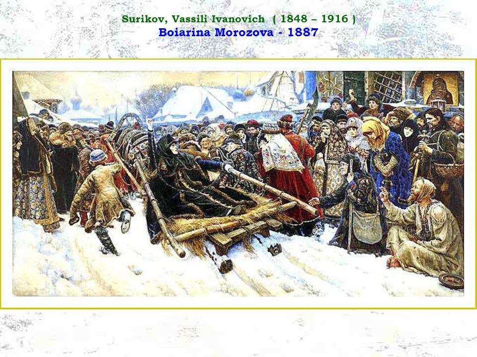 Surikov, Vassili Ivanovich ( 1848 – 1916 ) Esecuzione di massa - 1881