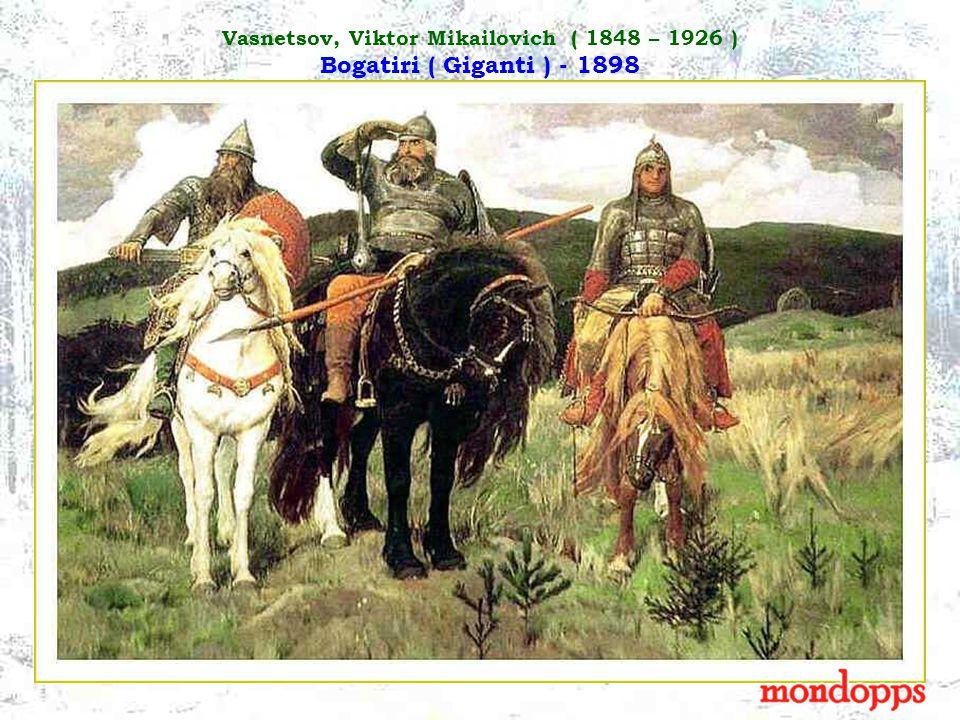 Vasnetsov, Viktor Mikailovich ( 1848 – 1926 ) Il battesimo di San Vladimiro - 1890