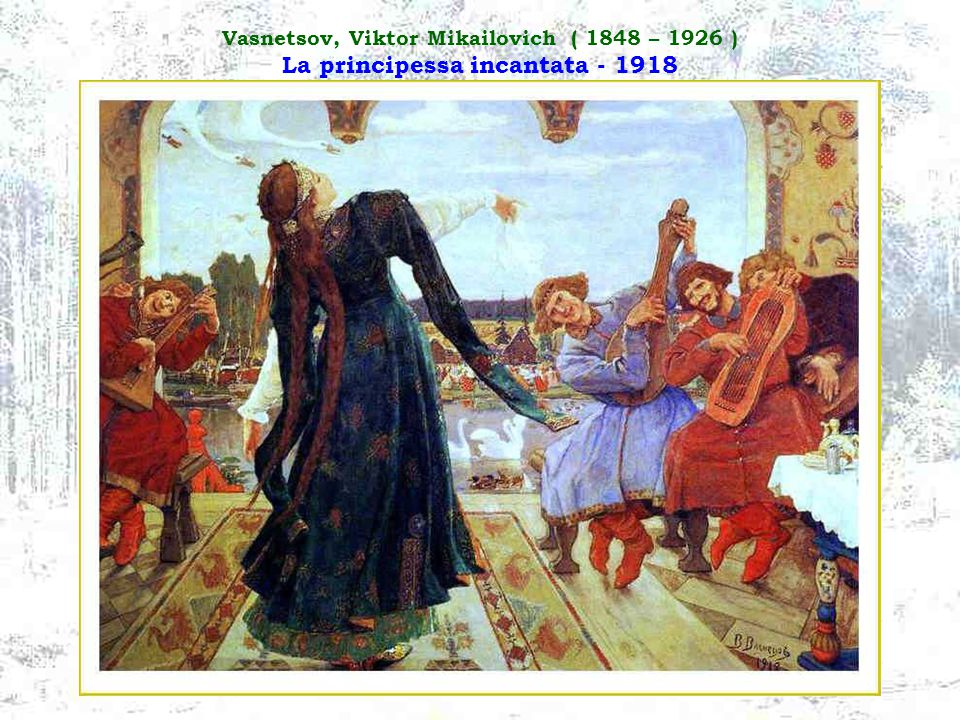 Vasnetsov, Viktor Mikailovich ( 1848 – 1926 ) La Madre di Dio - 1901