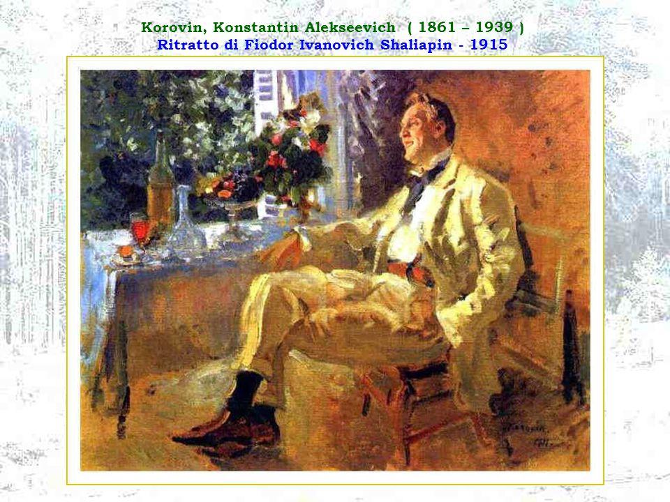 Ivanov, Serguei Vassilievich ( 1864 – 1910 ) La Morte del Pellegrino - 1889