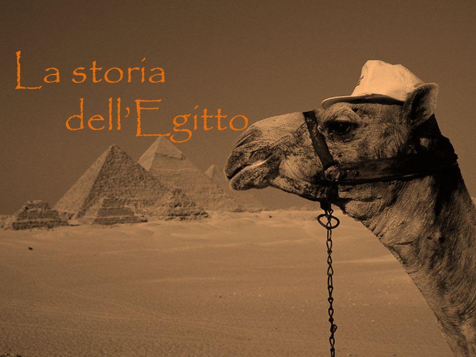 La storia. dell'Egitto