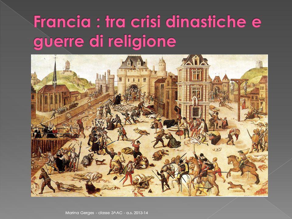 fede protestante fede cattolica BorboneGuisa