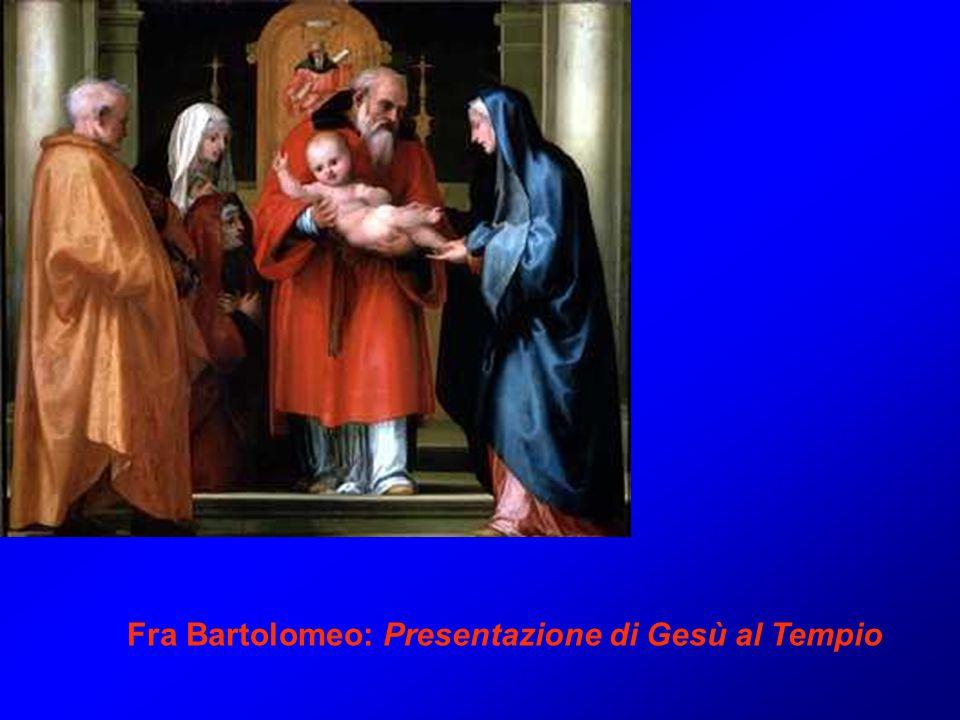 Fra Bartolomeo: Presentazione di Gesù al Tempio