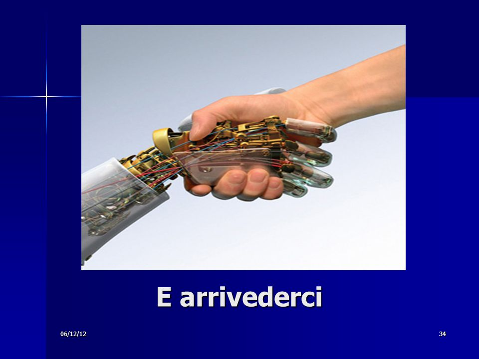 06/12/1234 E arrivederci