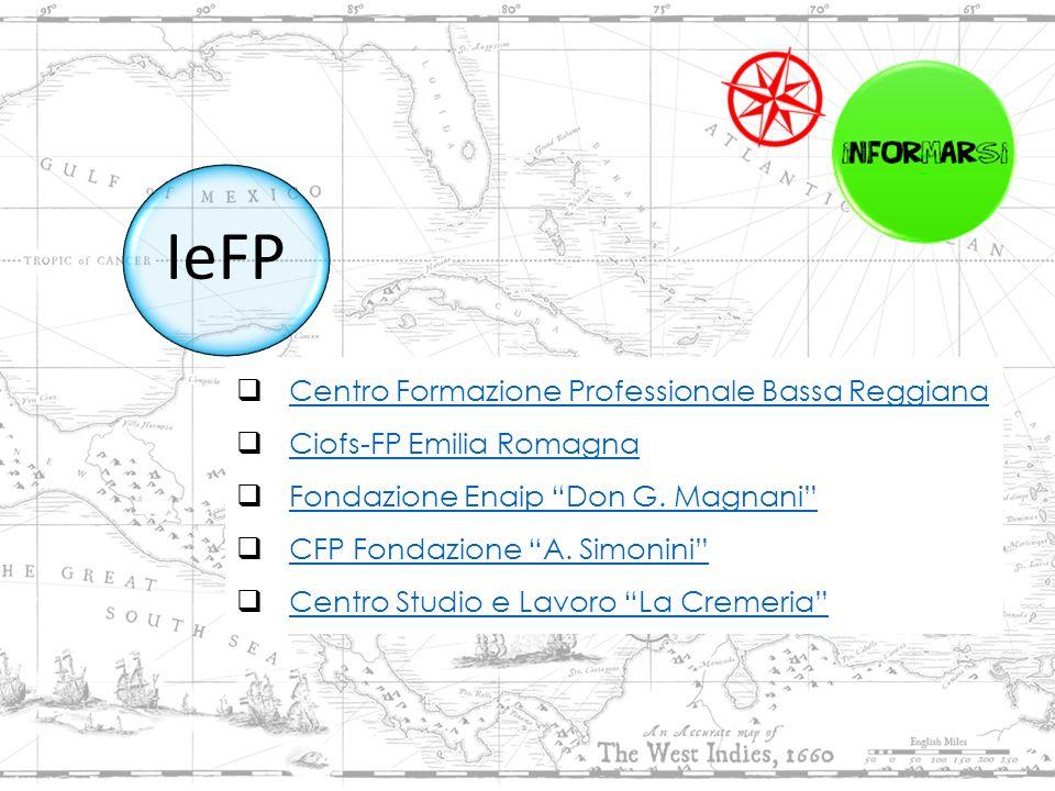  Centro Formazione Professionale Bassa Reggiana Centro Formazione Professionale Bassa Reggiana  Ciofs-FP Emilia Romagna Ciofs-FP Emilia Romagna  Fondazione Enaip Don G.