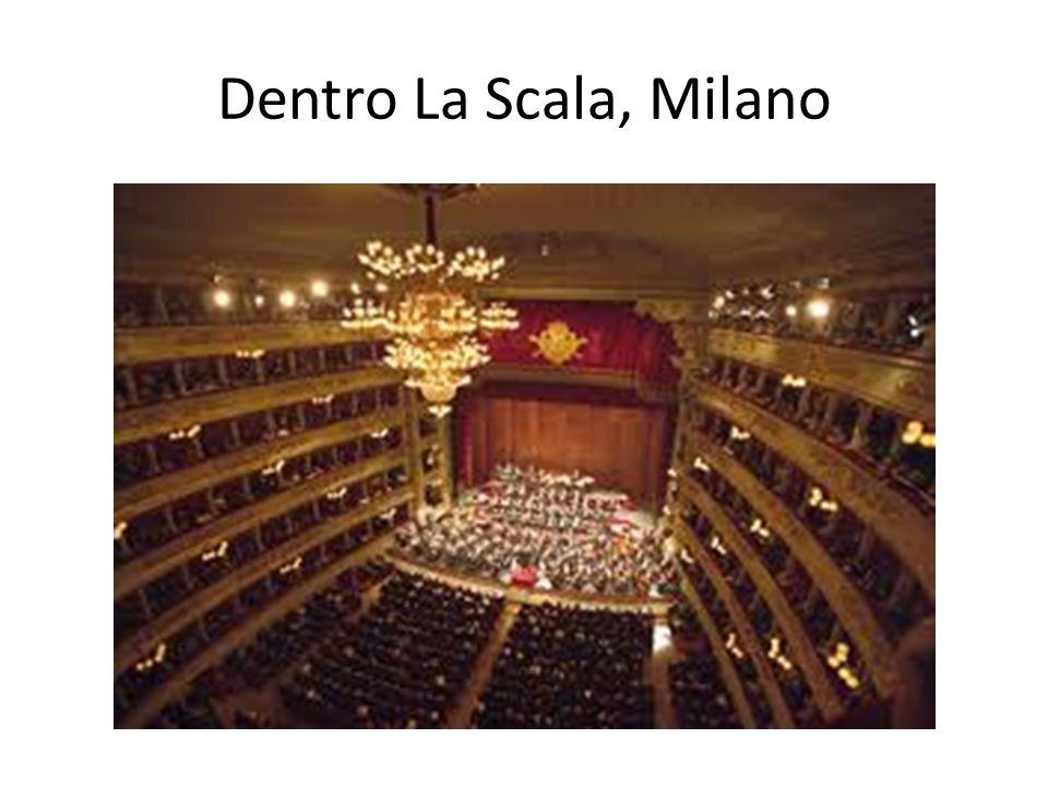 Dentro La Scala, Milano