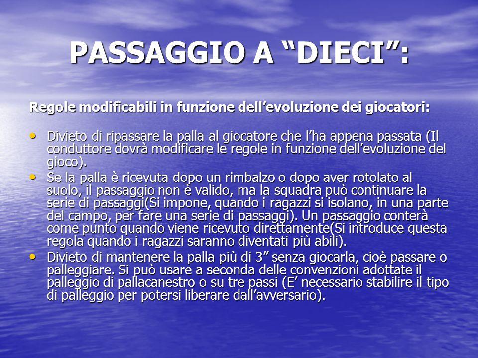 """PASSAGGIO A """"DIECI"""": Due regole infrangibili: Rispetto all'avversario. Divieto di provocare dei contatti con l'avversario. Al fallo il conduttore acco"""