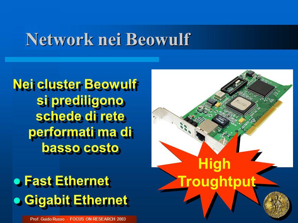 Network nei Beowulf Prof.