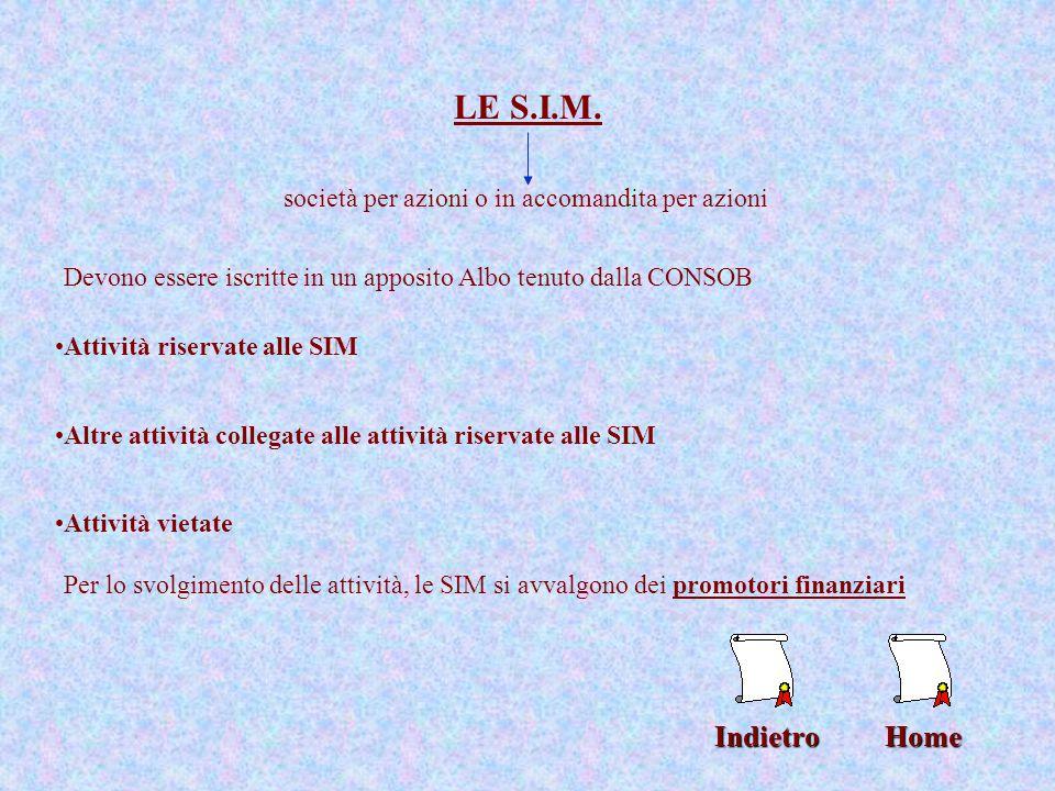 """La Borsa Mercato ufficiale dove vengono negoziati prodotti finanziari Home Operano solo intermediari finanziari specializzati Decreto """"Eurosim"""" chiuse"""