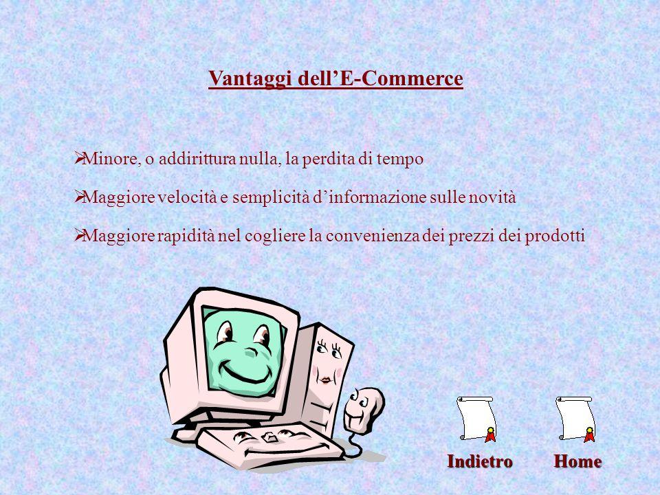 Home Motivi di sviluppo dell'E-Commerce legato all'uso della rete Internet In Italia, secondo alcune statistiche, solo il 10% si collega con una certa