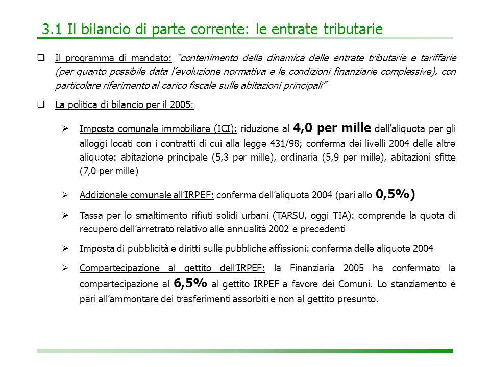 6.2 Tabella E: fonti e impieghi degli investimenti 2005-2007