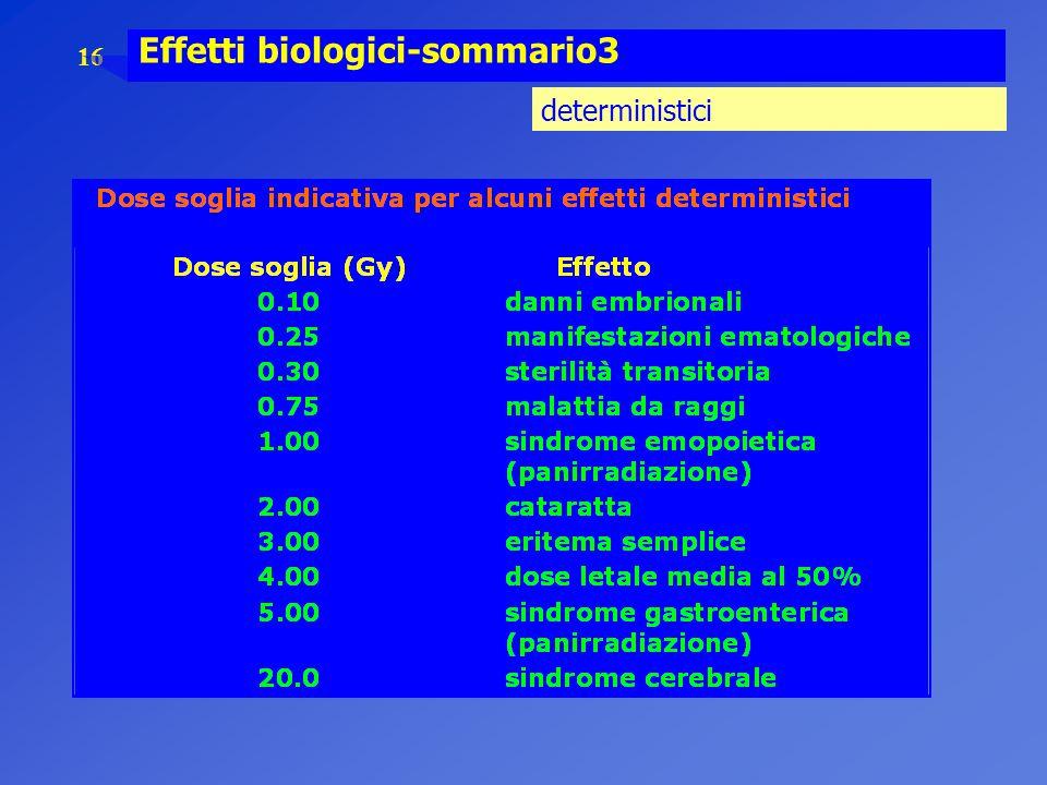 16 Effetti biologici-sommario3 deterministici