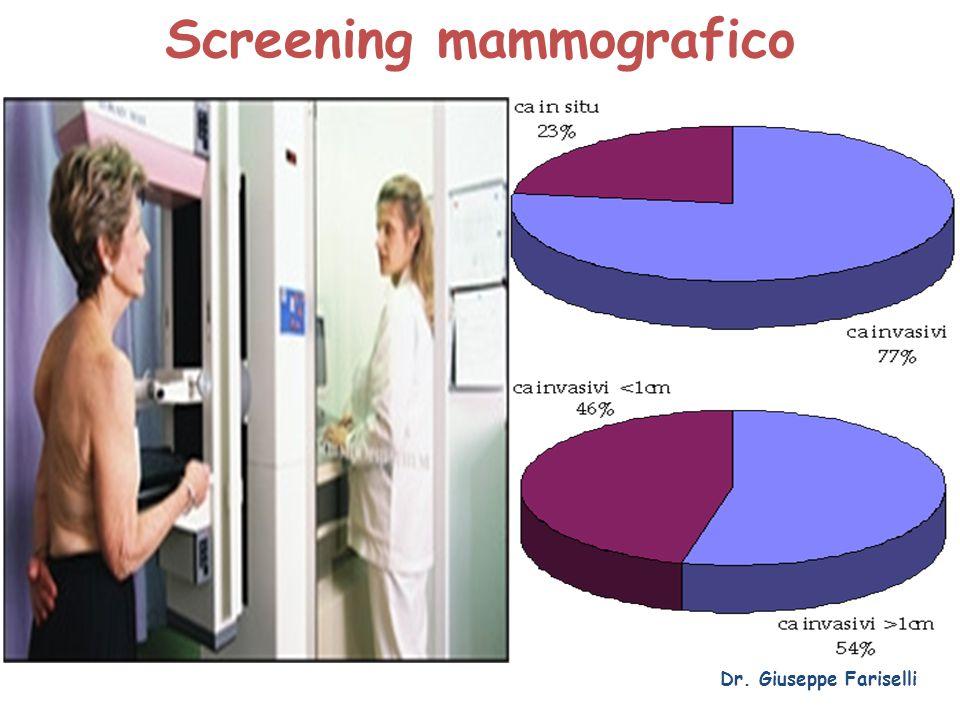 Screening mammografico Dr. Giuseppe Fariselli
