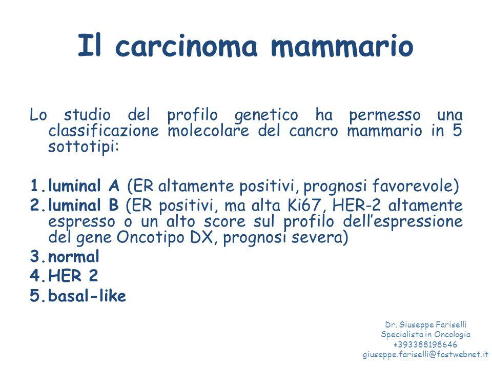 Carcinoma mammario maschile Dr. Giuseppe Fariselli