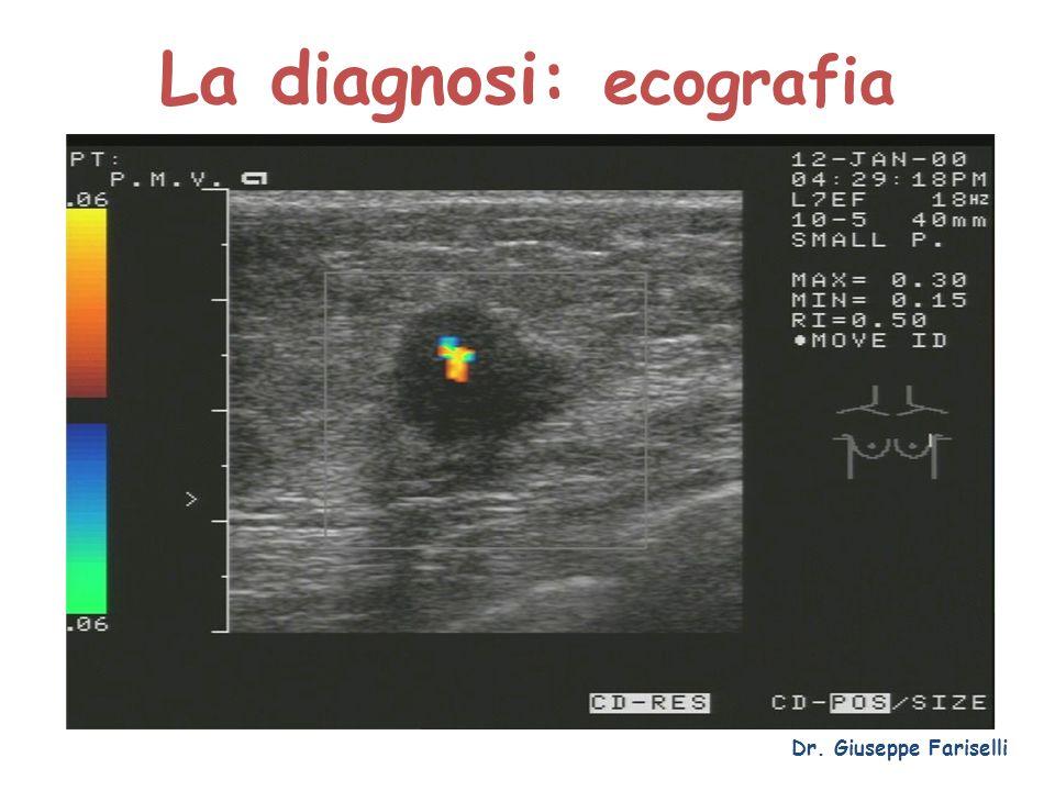 La diagnosi: ecografia Dr. Giuseppe Fariselli