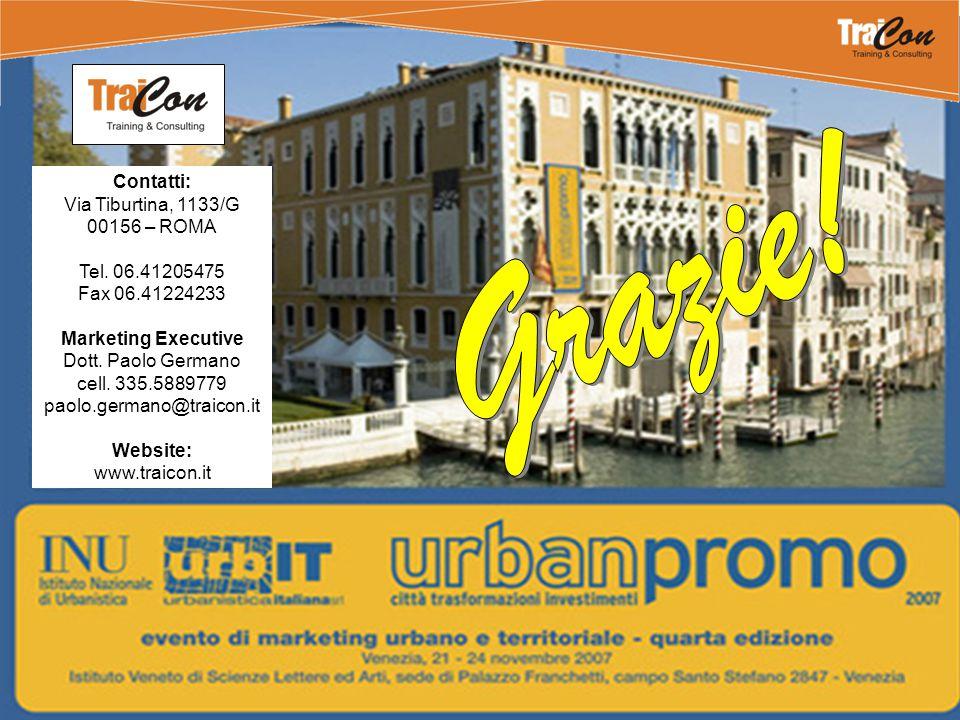 Contatti: Via Tiburtina, 1133/G 00156 – ROMA Tel. 06.41205475 Fax 06.41224233 Marketing Executive Dott. Paolo Germano cell. 335.5889779 paolo.germano@