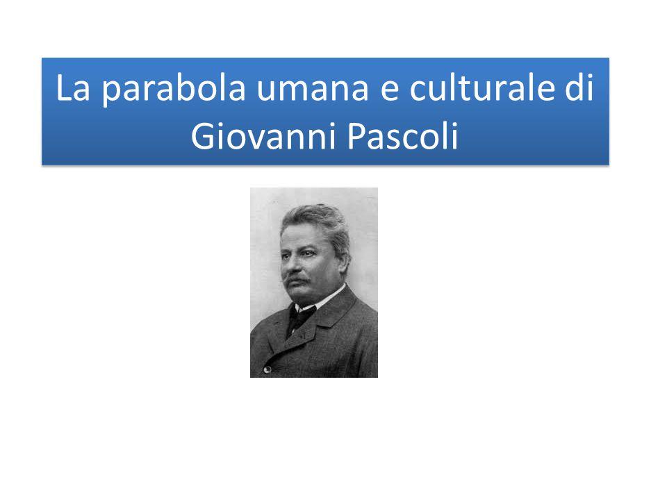 La parabola umana e culturale di Giovanni Pascoli