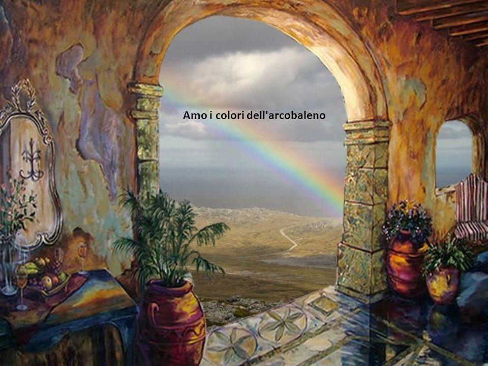 Amo i colori dell arcobaleno