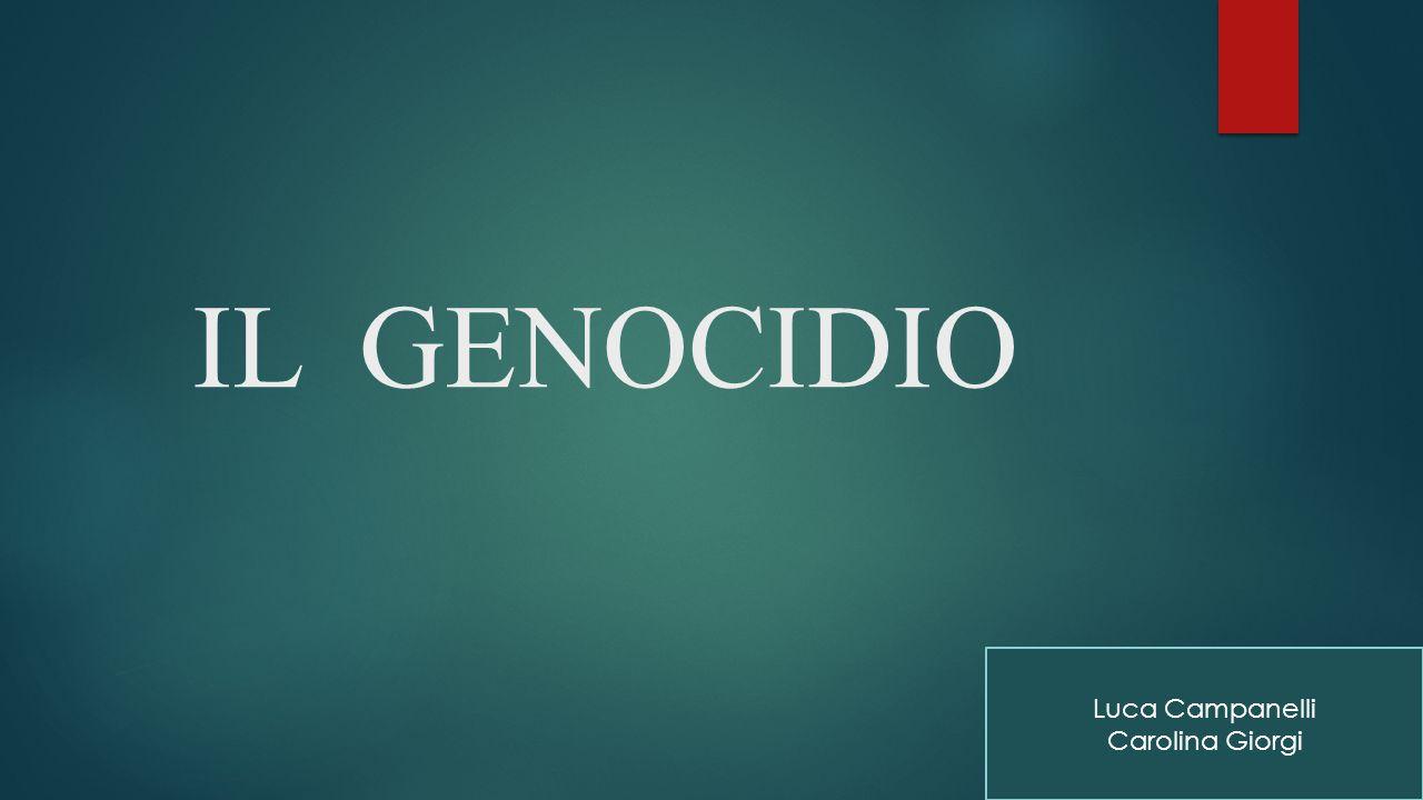 Il genocidio armeno fu il primo del '900.