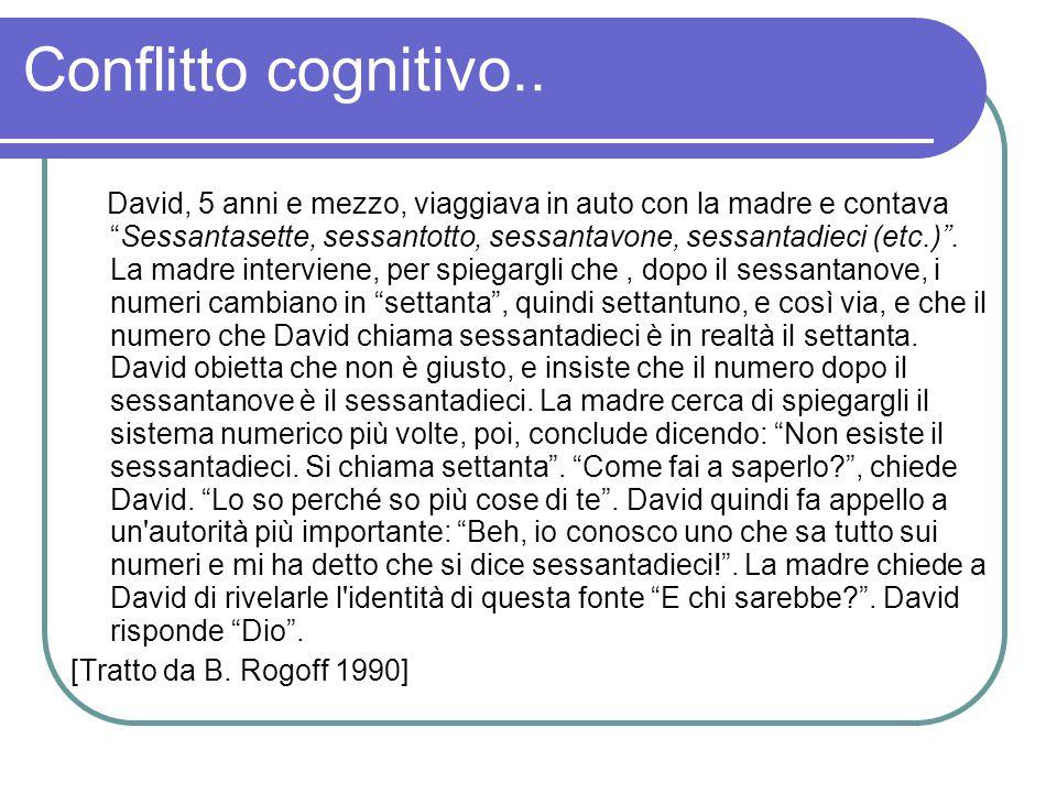 Conflitto cognitivo..