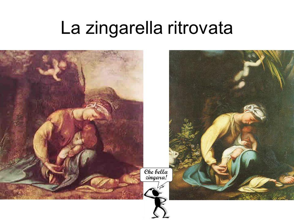 La zingarella ritrovata Antonio Allegri detto Correggio Che bella zingara!