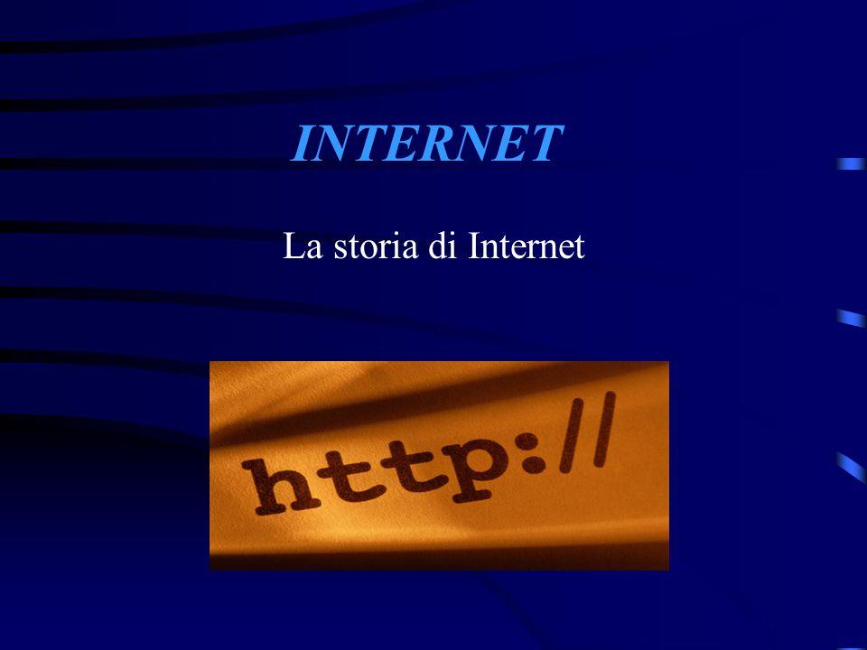 INTERNET La storia di Internet