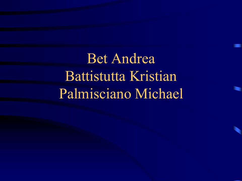 Bet Andrea Battistutta Kristian Palmisciano Michael