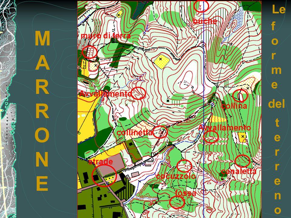 collinetta strade cocuzzolo fossa canaletta Avvallamento muro di terra buche MARRONEMARRONE Le formeforme del terrenoterreno collina Avvallamento