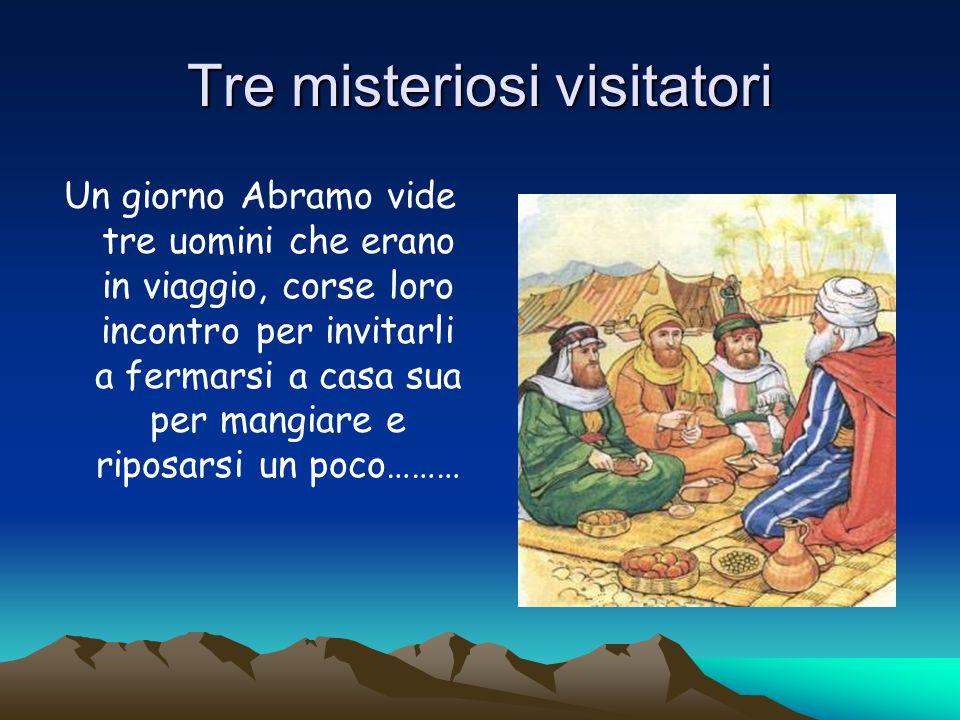 Abramo messo alla prova da Dio Abramo fu molto contento di avere un figlio, ma la sua fedeltà fu messa di nuovo alla prova…..