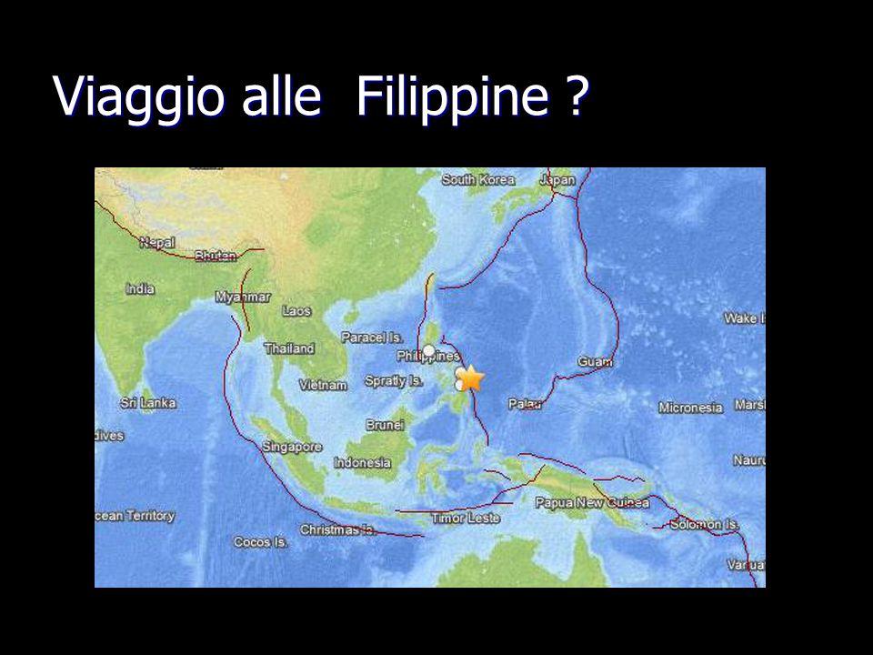 Viaggio alle Filippine ?