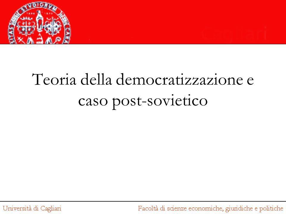 Teoria della democratizzazione e caso post-sovietico