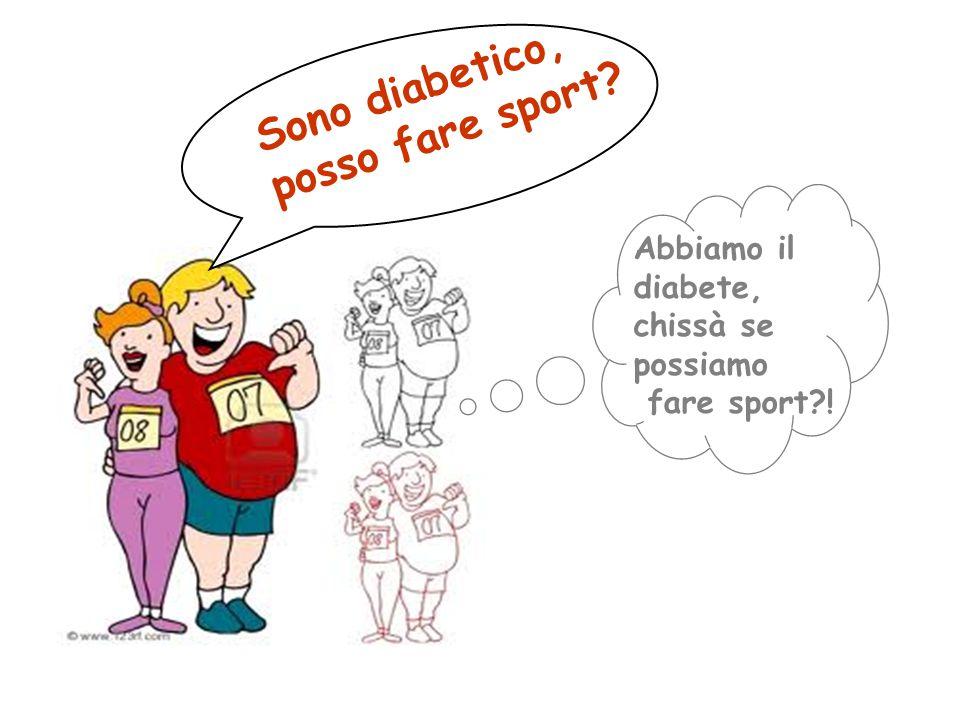 Sono diabetico, posso fare sport? Abbiamo il diabete, chissà se possiamo fare sport?!