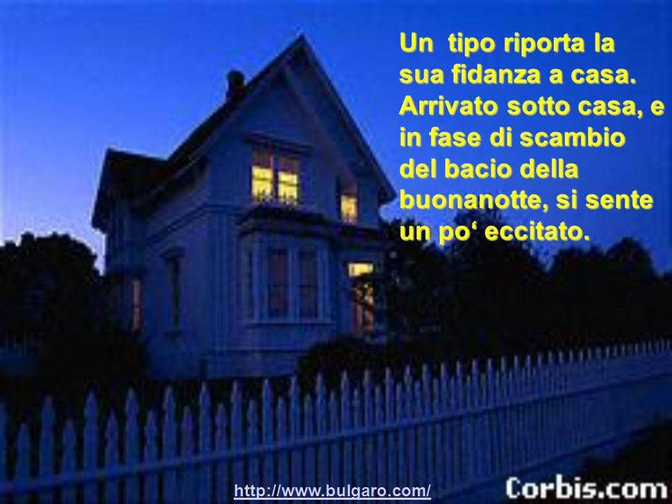 http://www.bulgaro.com/ Con un po' di faccia tosta si appoggia con la mano al muro e le dice: