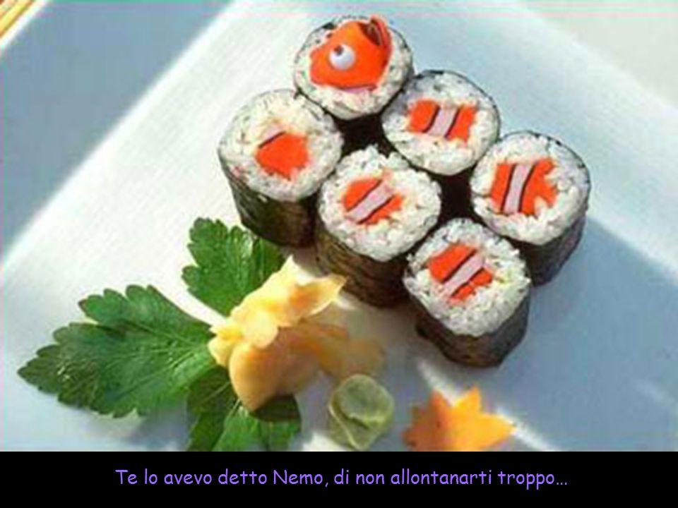 Te lo avevo detto Nemo, di non allontanarti troppo…