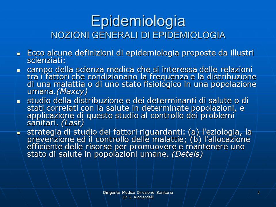 Dirigente Medico Direzione Sanitaria Dr S. Ricciardelli 24