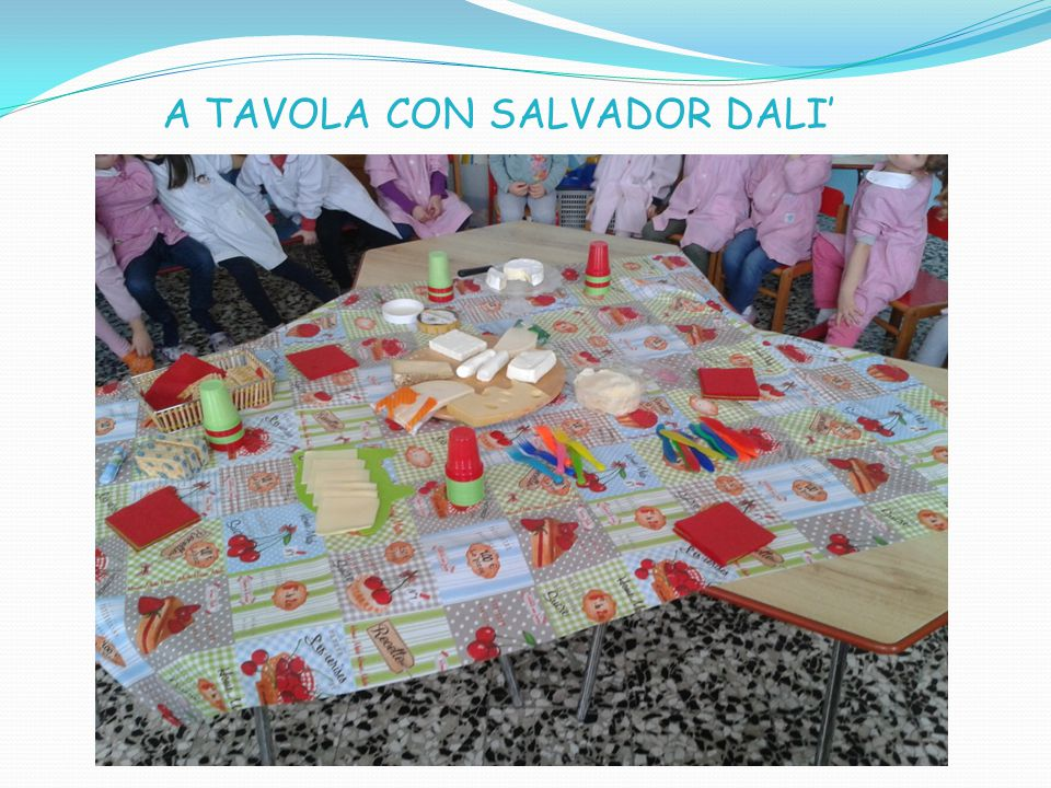 A TAVOLA CON SALVADOR DALI'