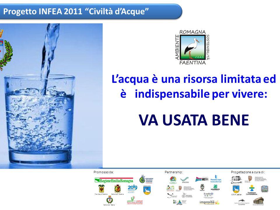 (ASCA) - Roma, 21 mar - L acqua non e una risorsa inesauribile, per questo non bisogna sprecarla ma considerarla un bene prezioso di tutta l umanita .